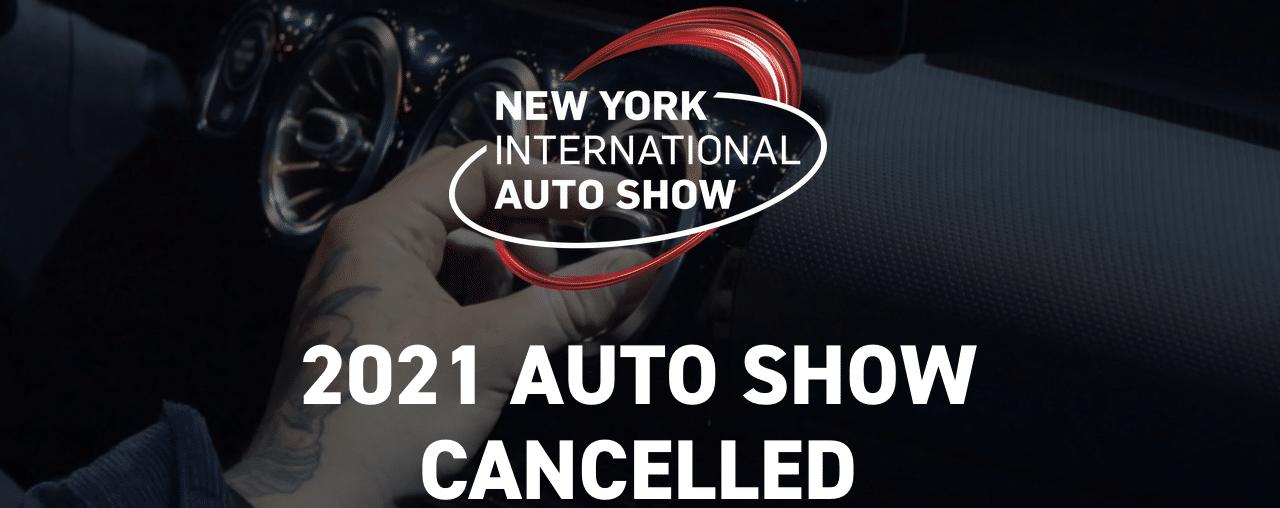 Cancelan Auto Show de Nueva York por aumento de casos por la variante Delta