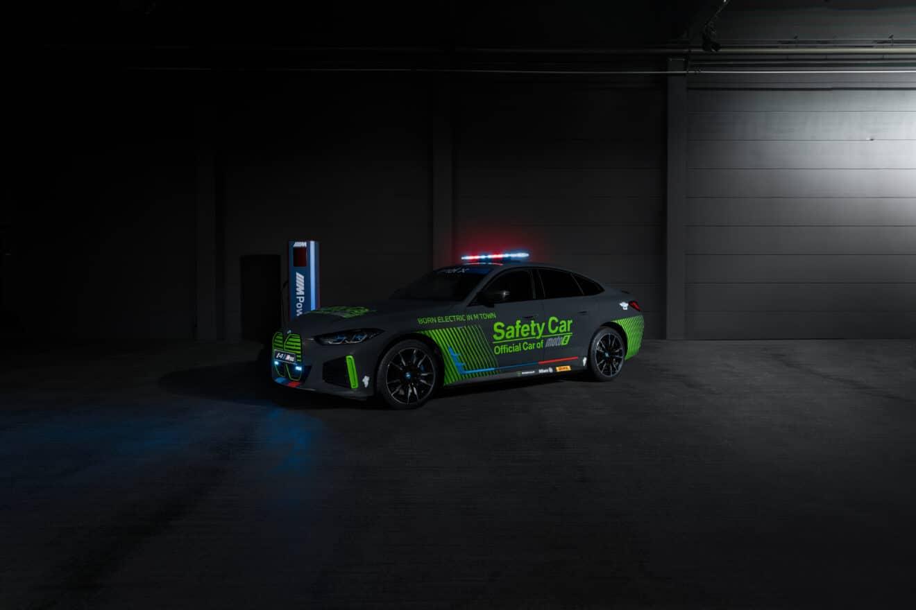 BMW i4 M50: el auto de seguridad totalmente eléctrico de MotoE