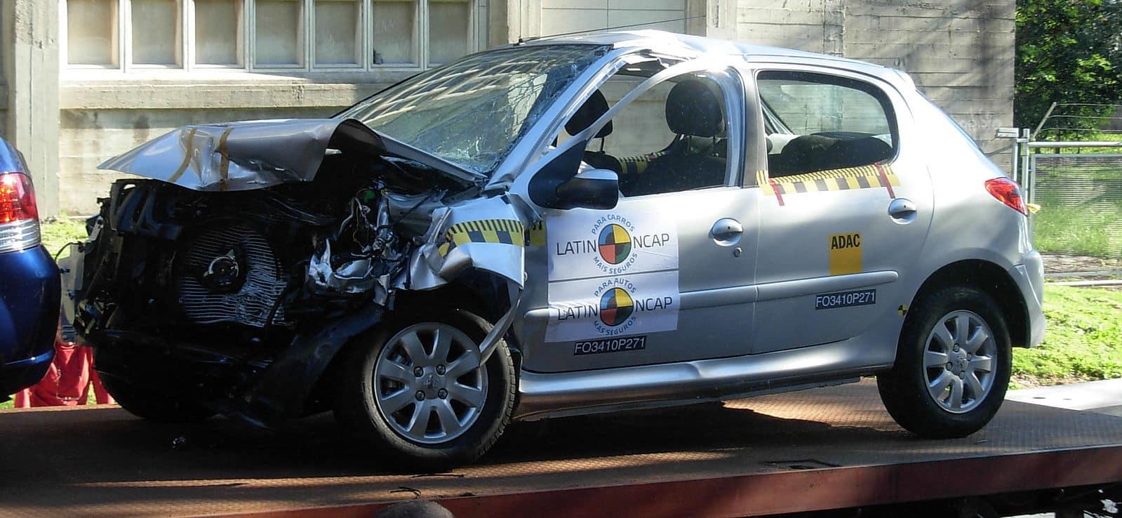 Choque de prueba Latin NCAP Uruguay