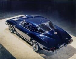 ¿Sabías que Chevrolet una vez construyó un Corvette de cuatro plazas?