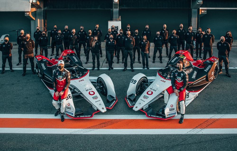 Lotterer y Wehrlein continuarán con Porsche en la temporada 2021/22 de la Fórmula E