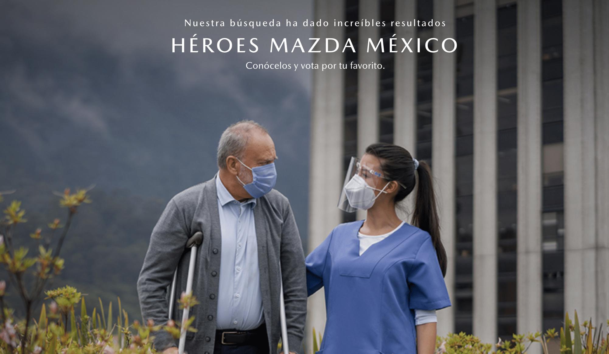 Conoce a cada finalista #HéroesMazdaMéxico: 10 historias de esperanza