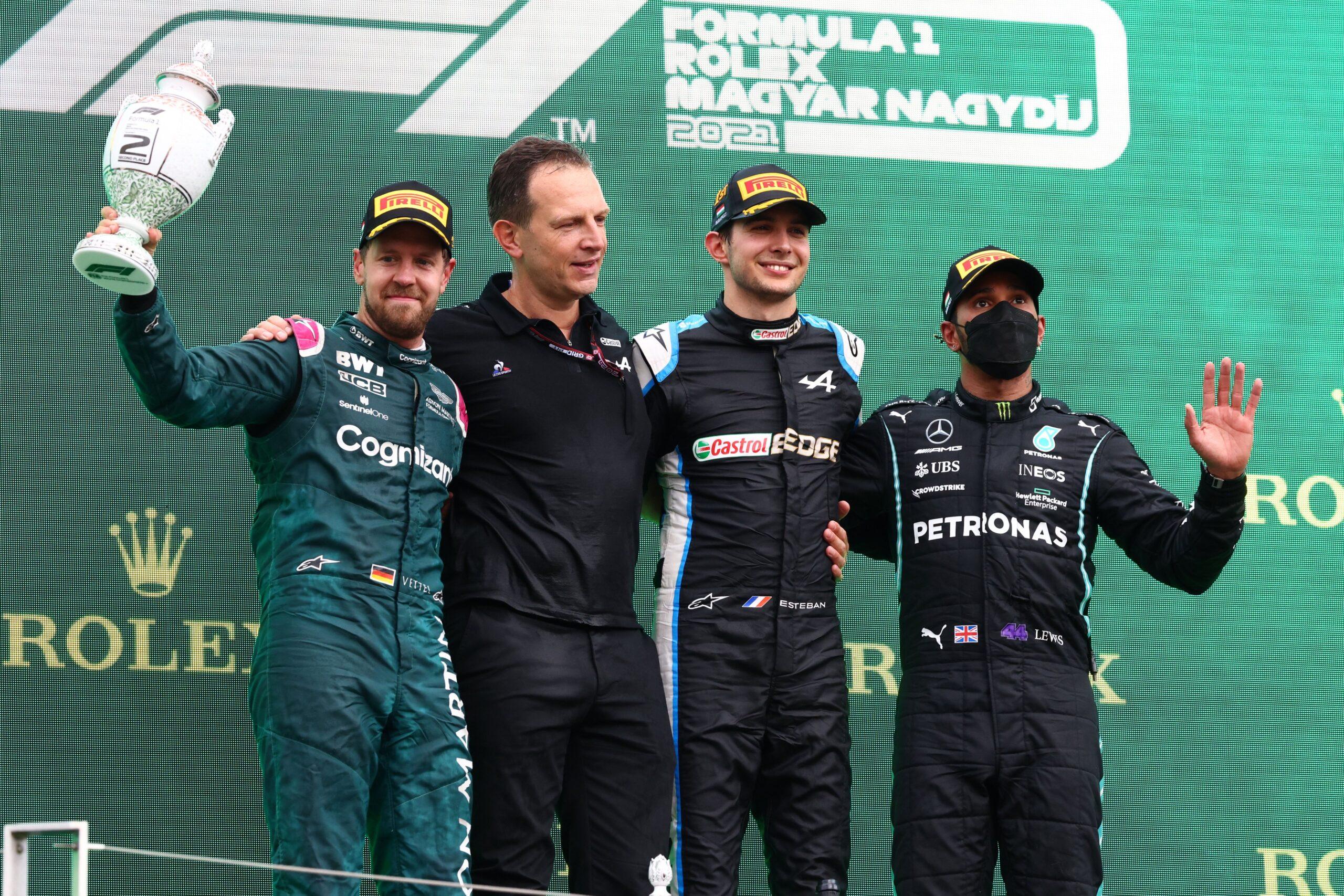Esteban Ocon logra su primera victoria en F1 en el caótico GP de Hungría