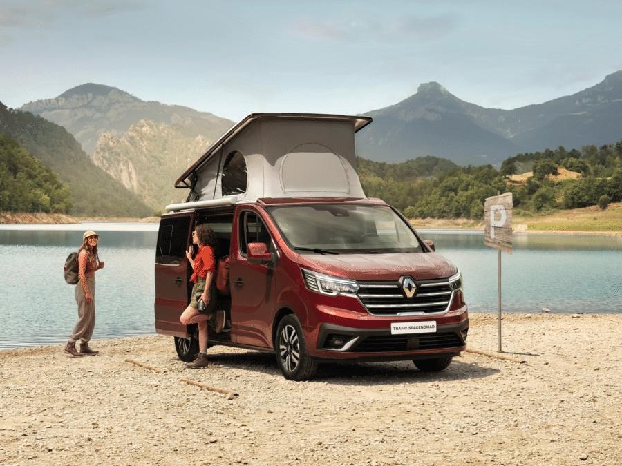 Renault presenta su nueva campervan: la Trafic SpaceNomad