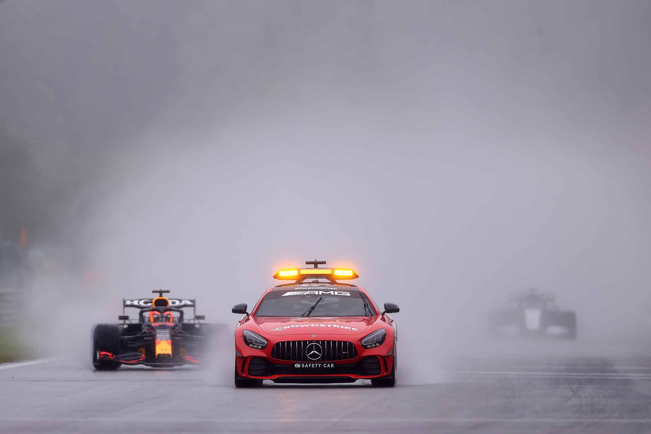 GP de Bélgica registrado como la carrera de F1 más corta de la historia