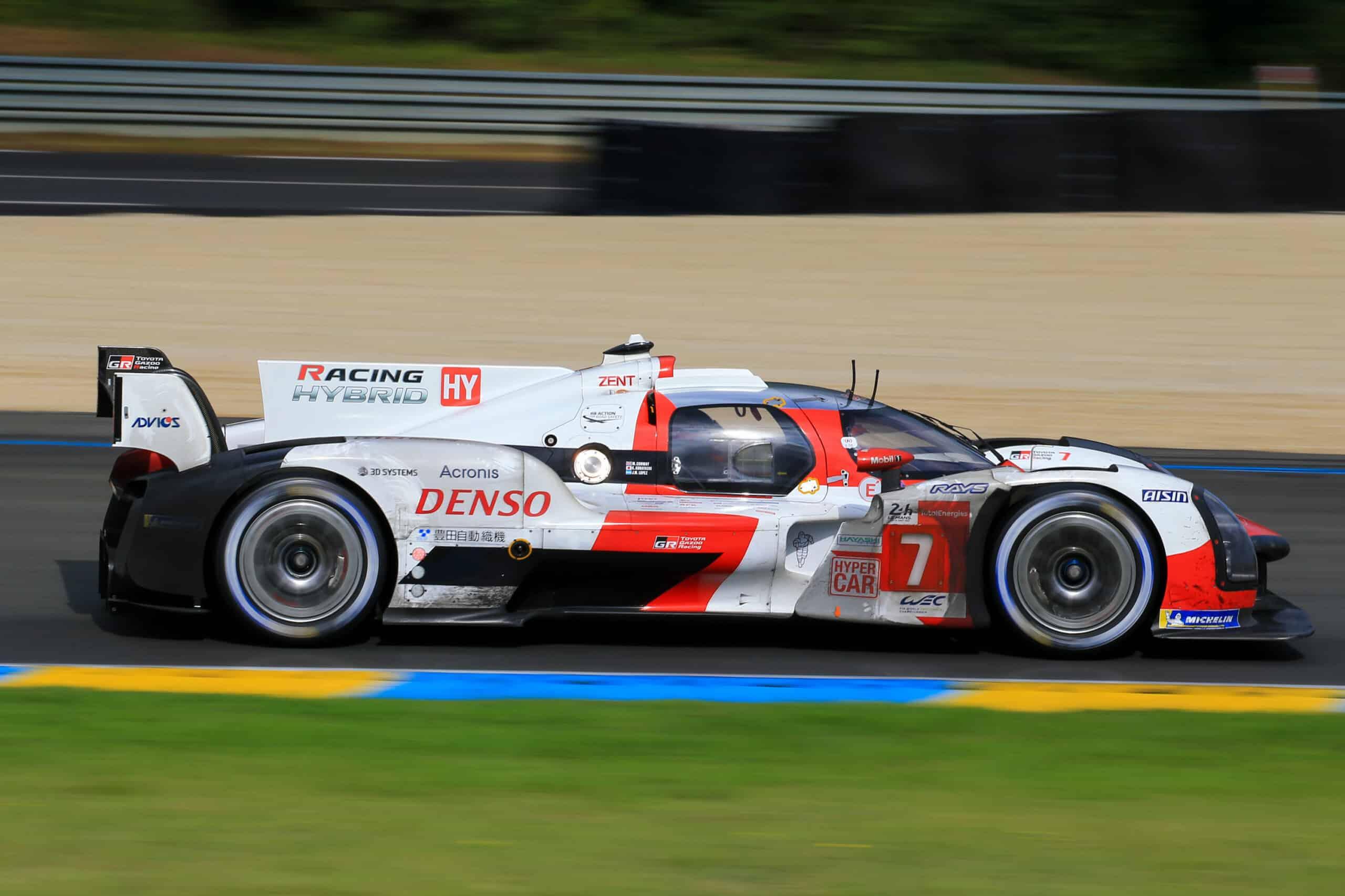 Toyota logra su cuarta victoria consecutiva en las 24 horas de Le Mans