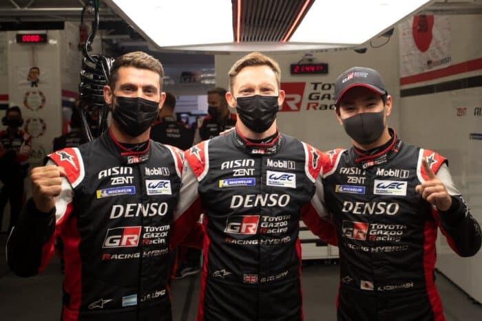 Toyota ha asegurado la Hyperpole en las 24 Horas de Le Mans
