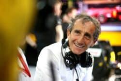 Alain Prost está fundamentalmente en contra de la parrilla invertida
