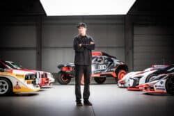 Ken Block firma con Audi para ayudar a desarrollar autos eléctricos