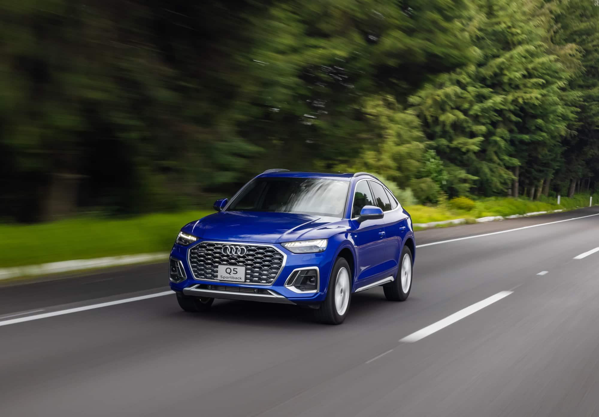 Audi Q5 Sportback 2022, elegancia atlética