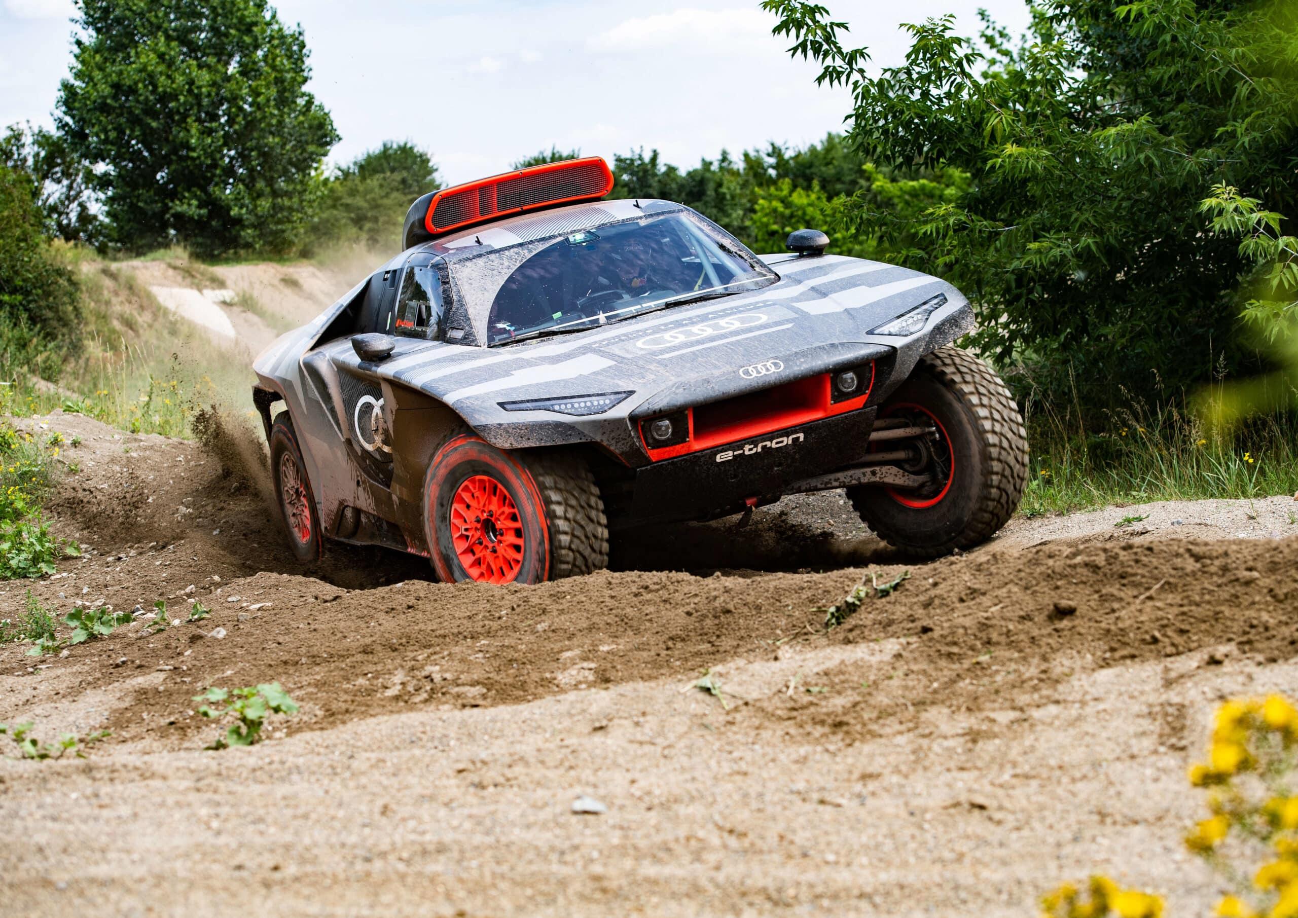 Audi RS Q e-tron, una aventura eléctrica en el Dakar