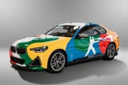 BMW Serie 2 Coupé, convertido en una obra de arte