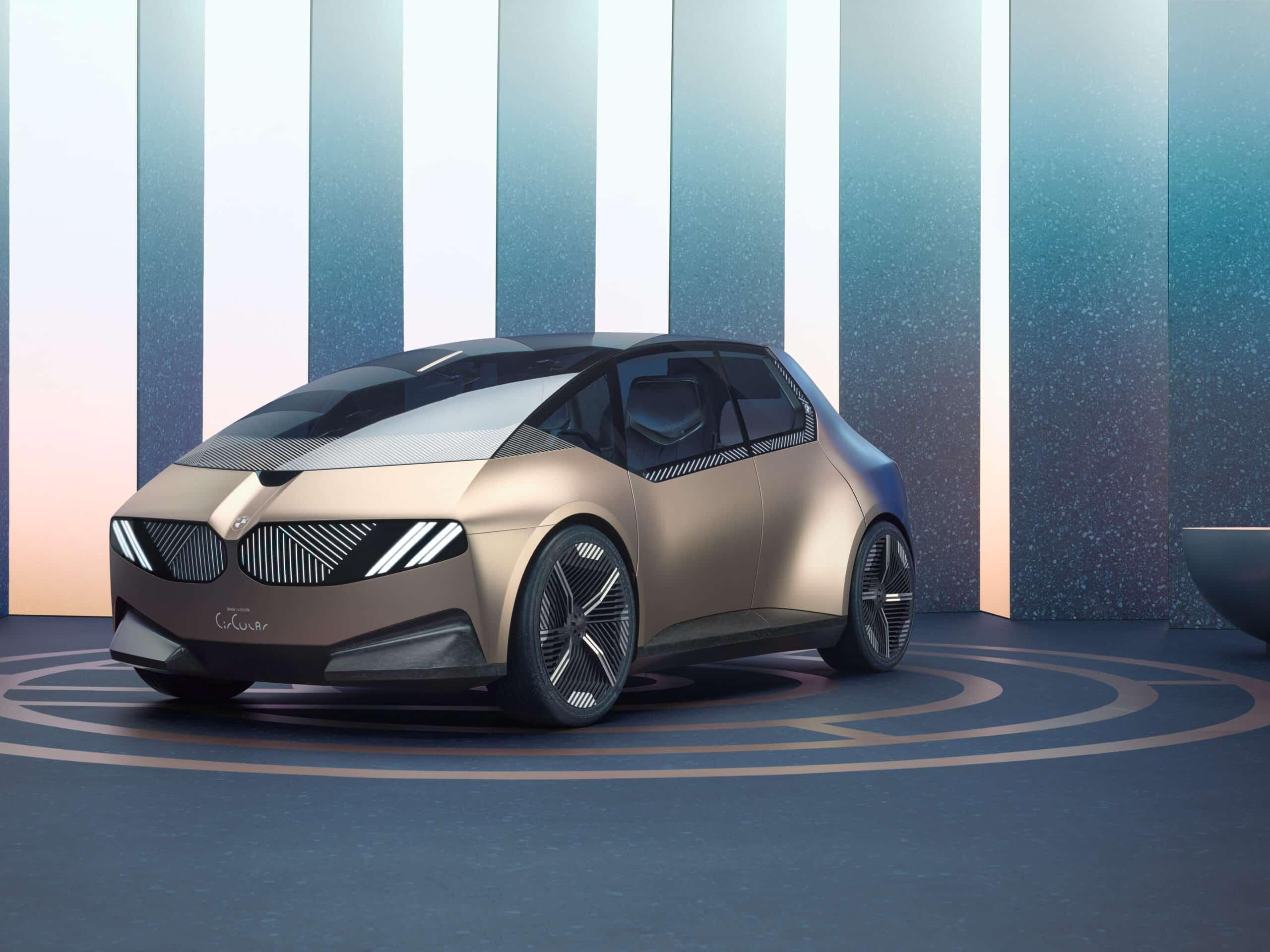 BMW i Vision Circular: el concepto eléctrico fabricado con materiales reciclados