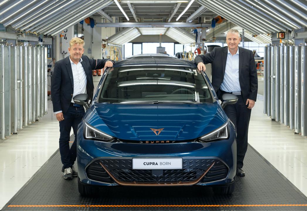 CUPRA Born inicia producción en Alemania