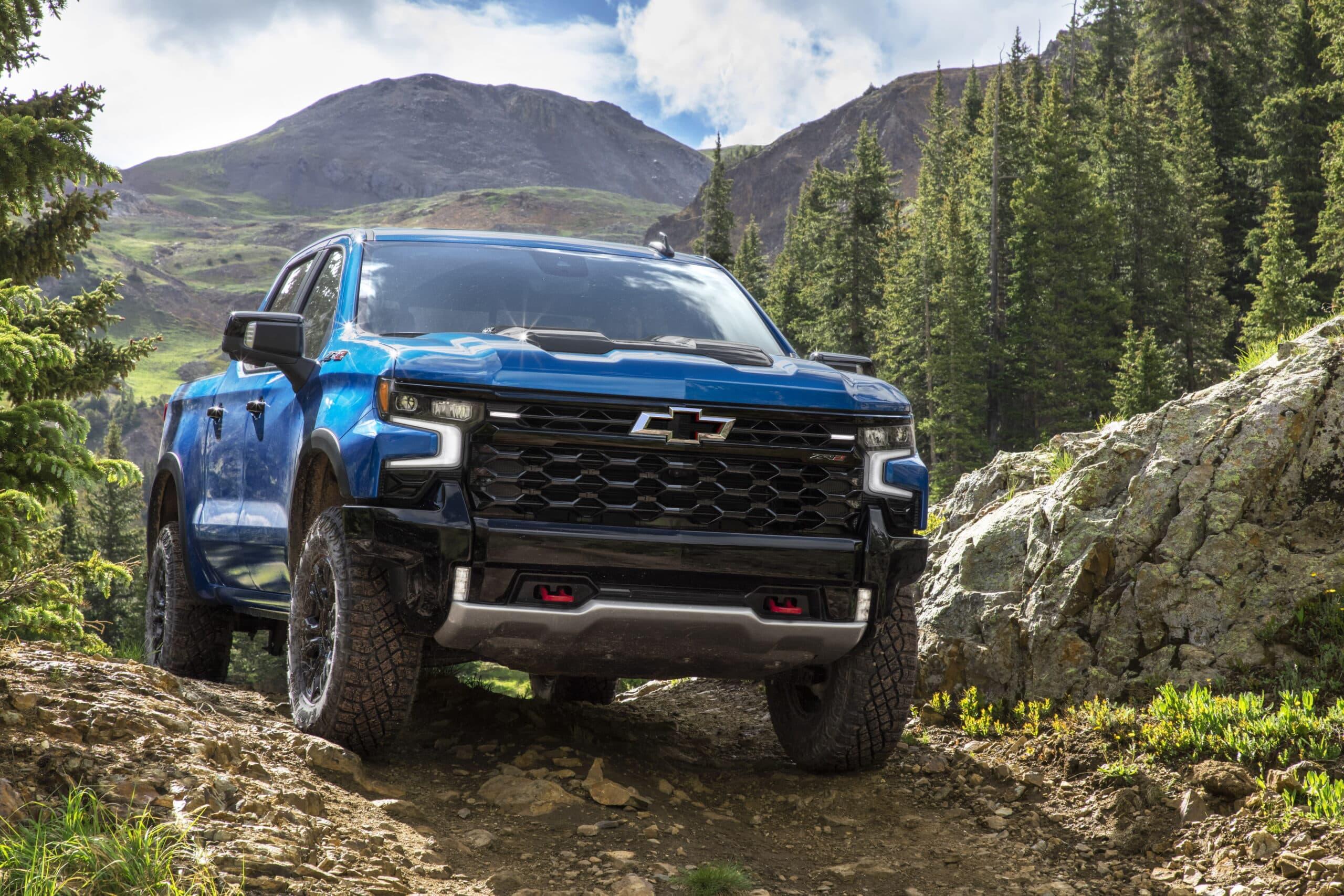 Chevrolet Silverado 2022 tiene tecnología nunca antes vista en pickups