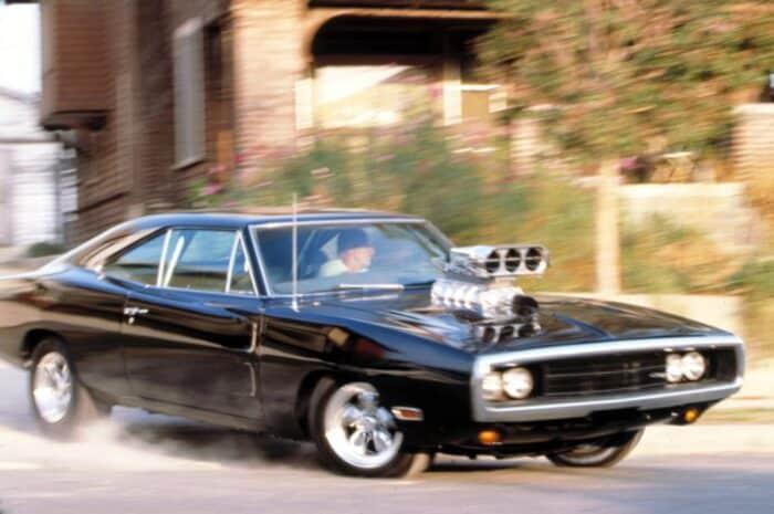 Dodge Charger RT, uno de los coches destruidos en Rápido y Furioso  Fotografía de Universal Pictures