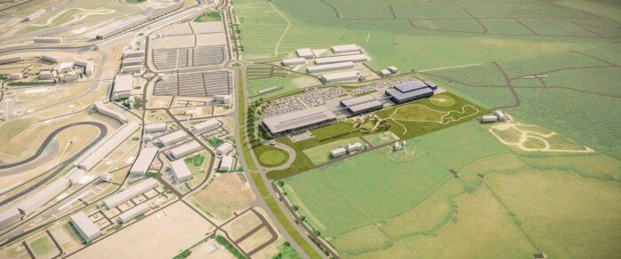 Aston Martin ha inaugurado la construcción de su nueva fábrica