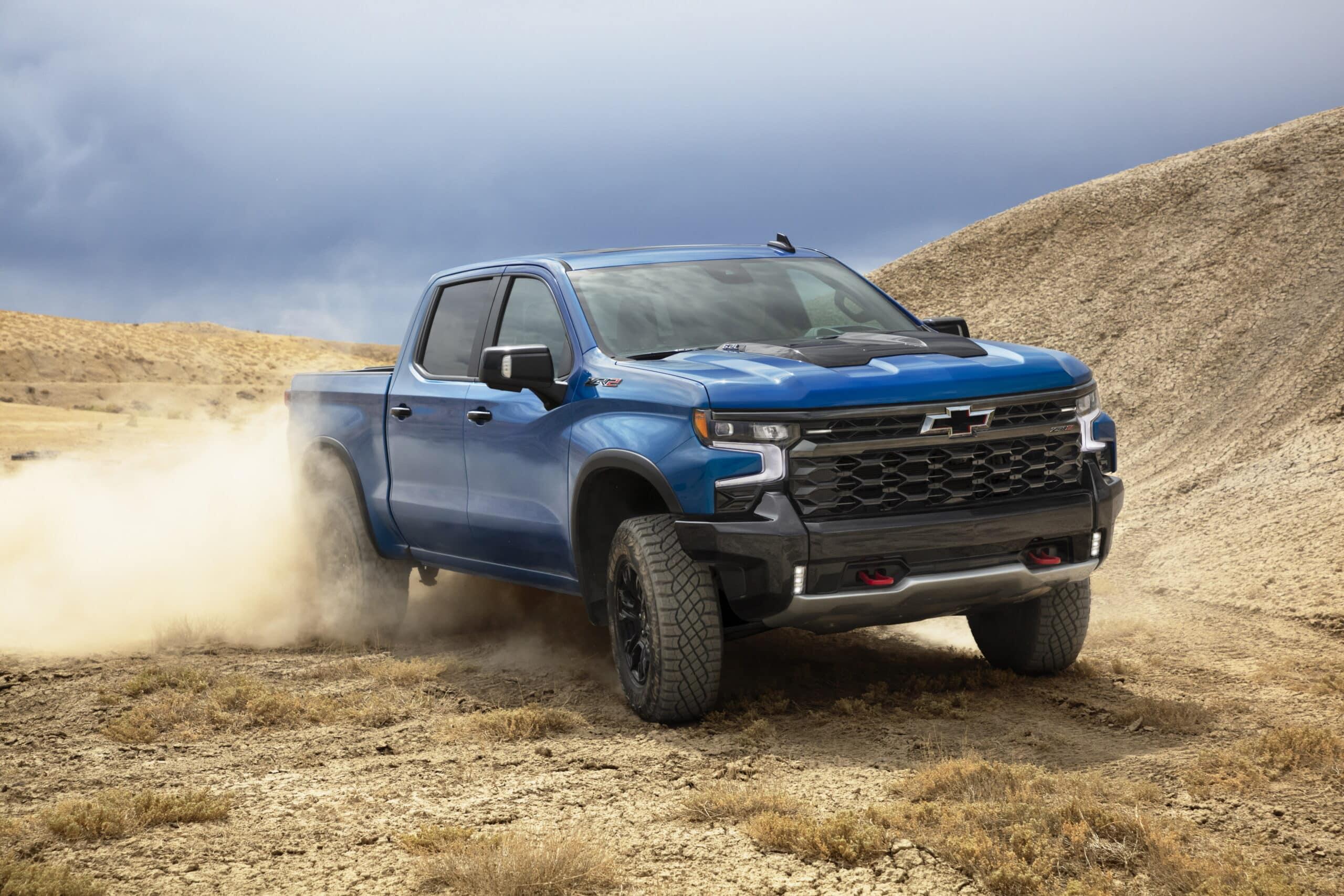 Chevrolet Silverado 2022 está capacitada para cualquier terreno