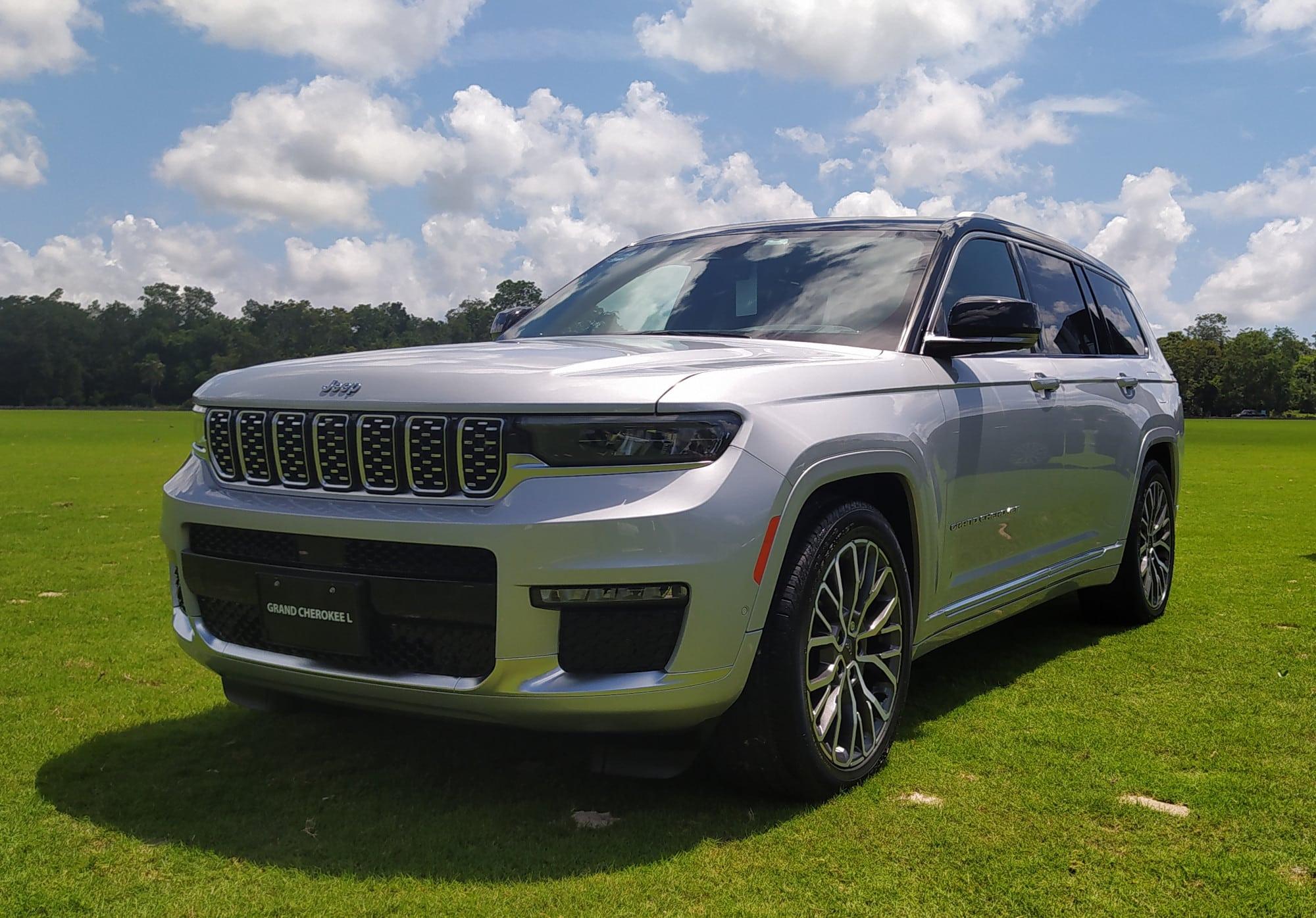 Jeep Grand Cherokee L, todo lo que esperas de un SUV