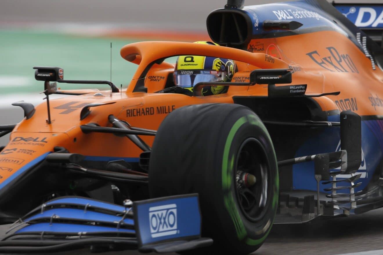 Lando Norris consigue su primer pole position en la Fórmula 1