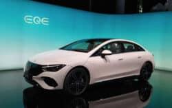 Mercedes-Benz emociona con sus eléctricos en el Autoshow de Múnich