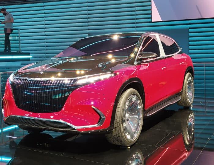 Concept EQS de Mercedes-Maybach