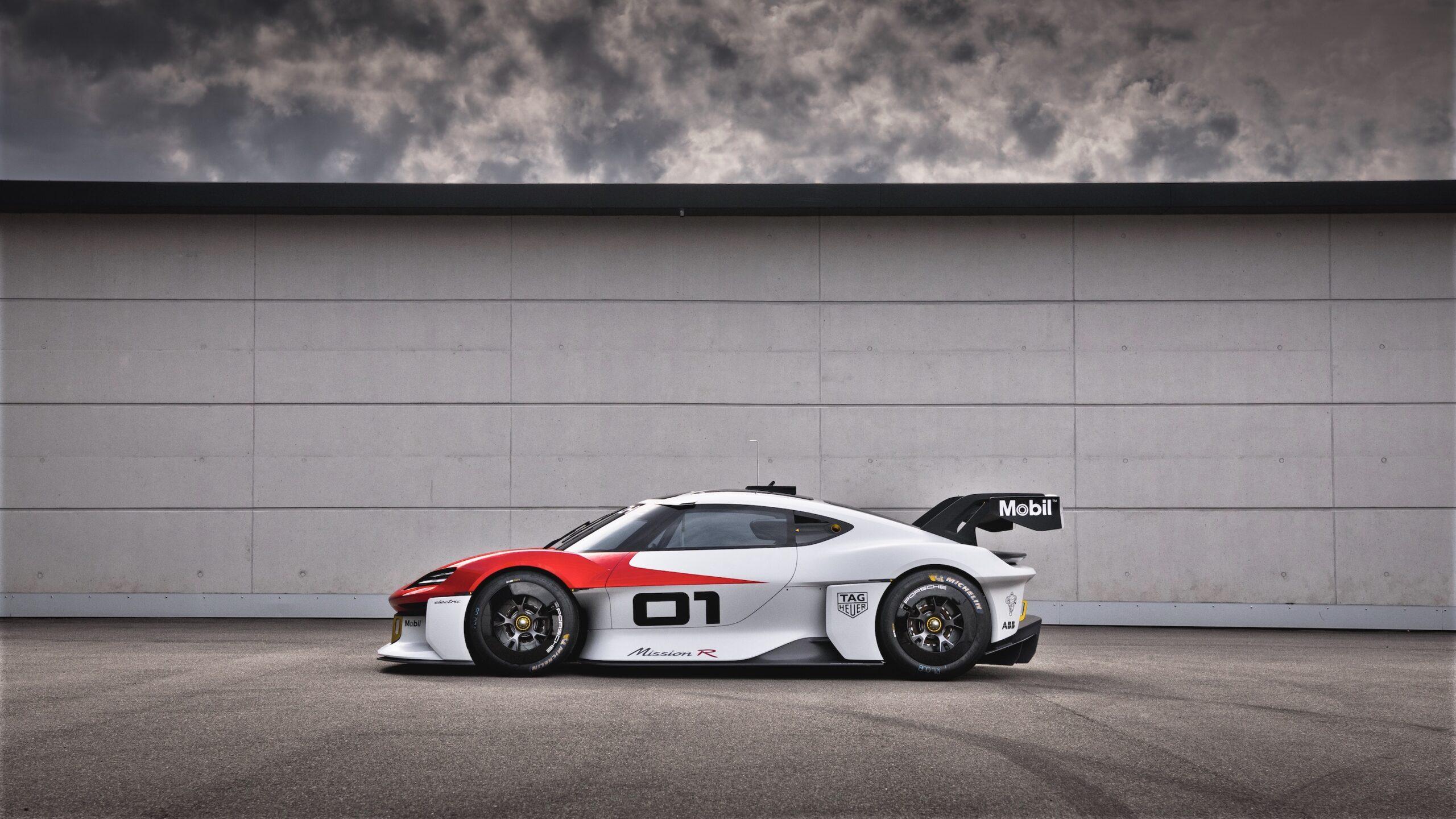 Porsche presenta el concepto Mission R: 1088 caballos de potencia