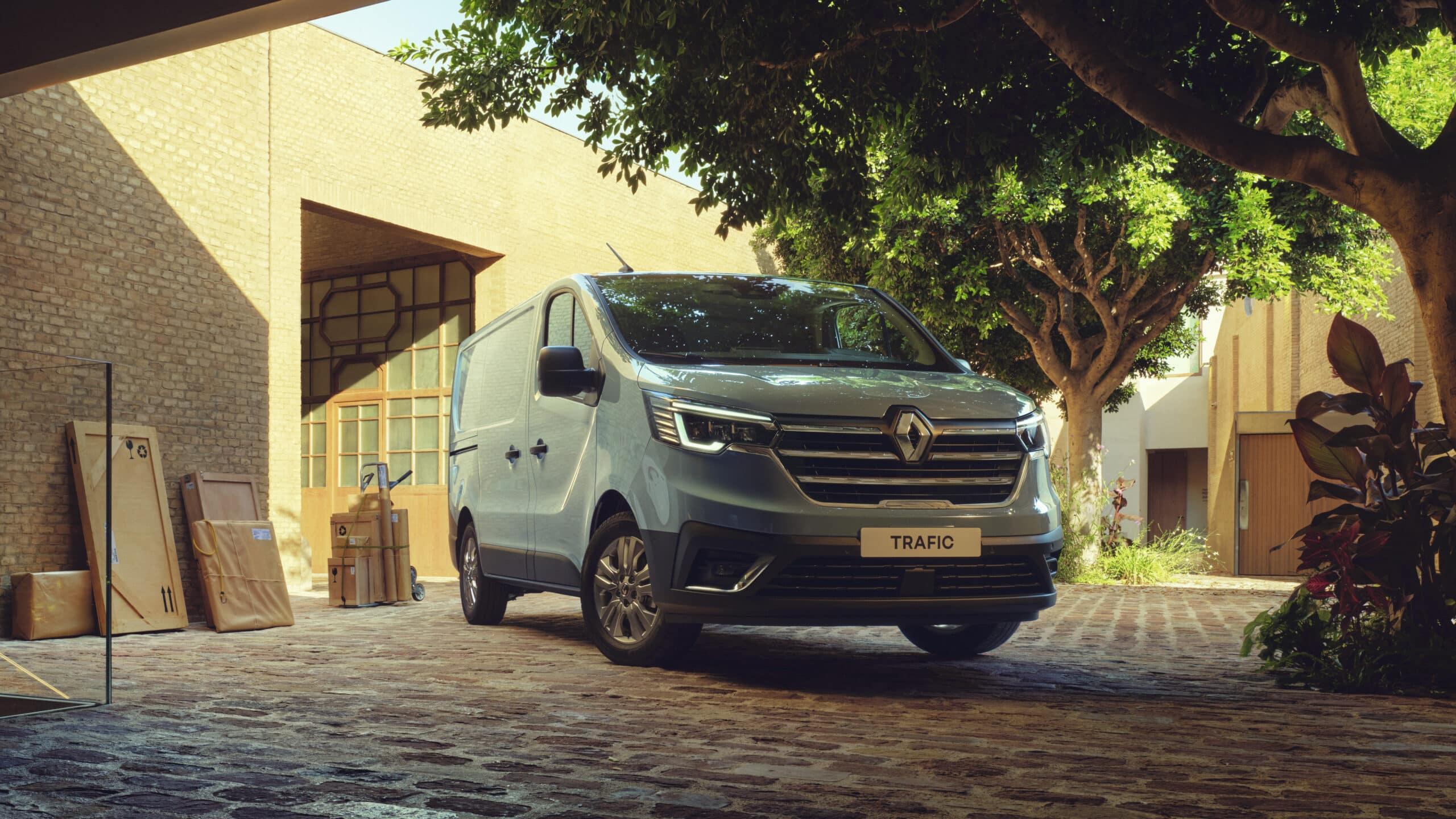 Renault Trafic: una furgoneta muy especial inicia ventas en Europa