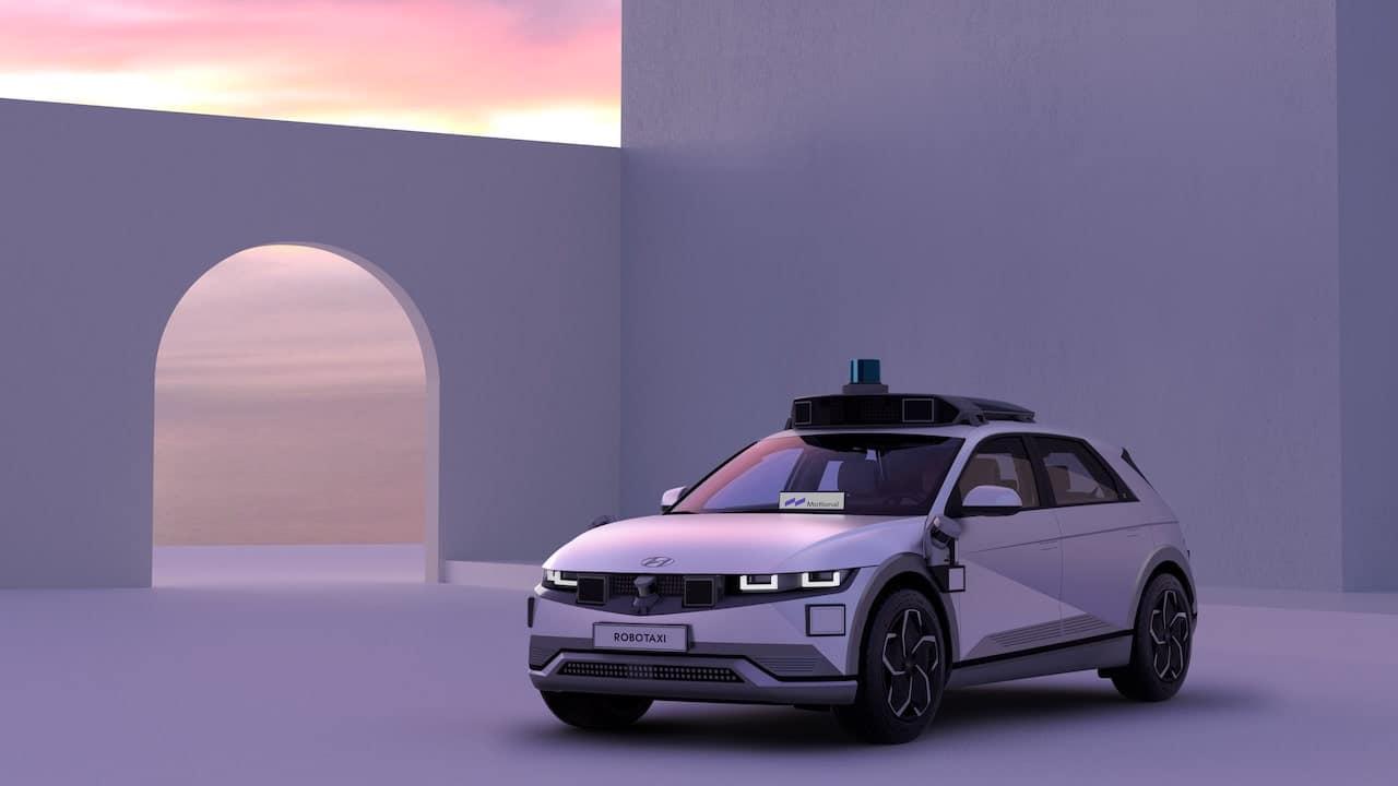 Robotaxi IONIQ 5, el taxi totalmente autónomo
