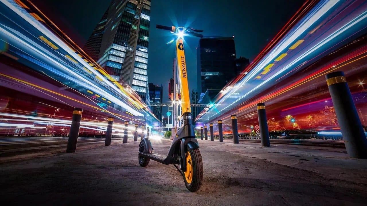 Renault México presenta un nuevo scooter eléctrico