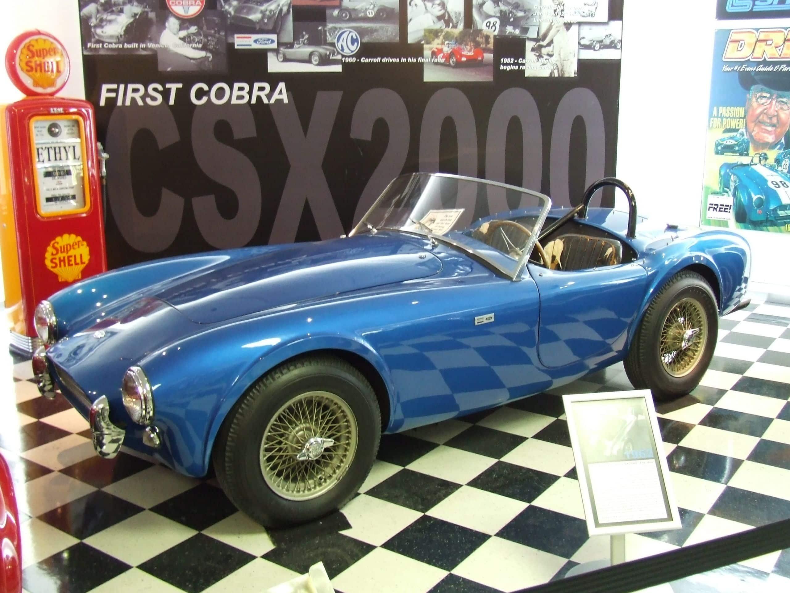 El CSX2000, el primer Cobra de la historia By Jaydec at English Wikipedia, CC BY-SA 3.0, https://commons.wikimedia.org/w/index.php?curid=9952757