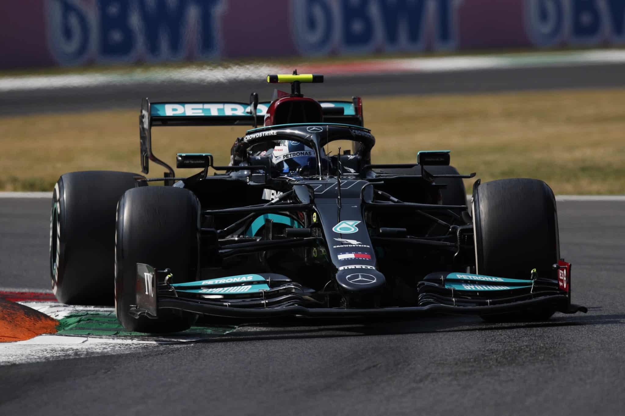 Valtteri Bottas gana la Sprint Race en Monza, Verstappen hereda la pole