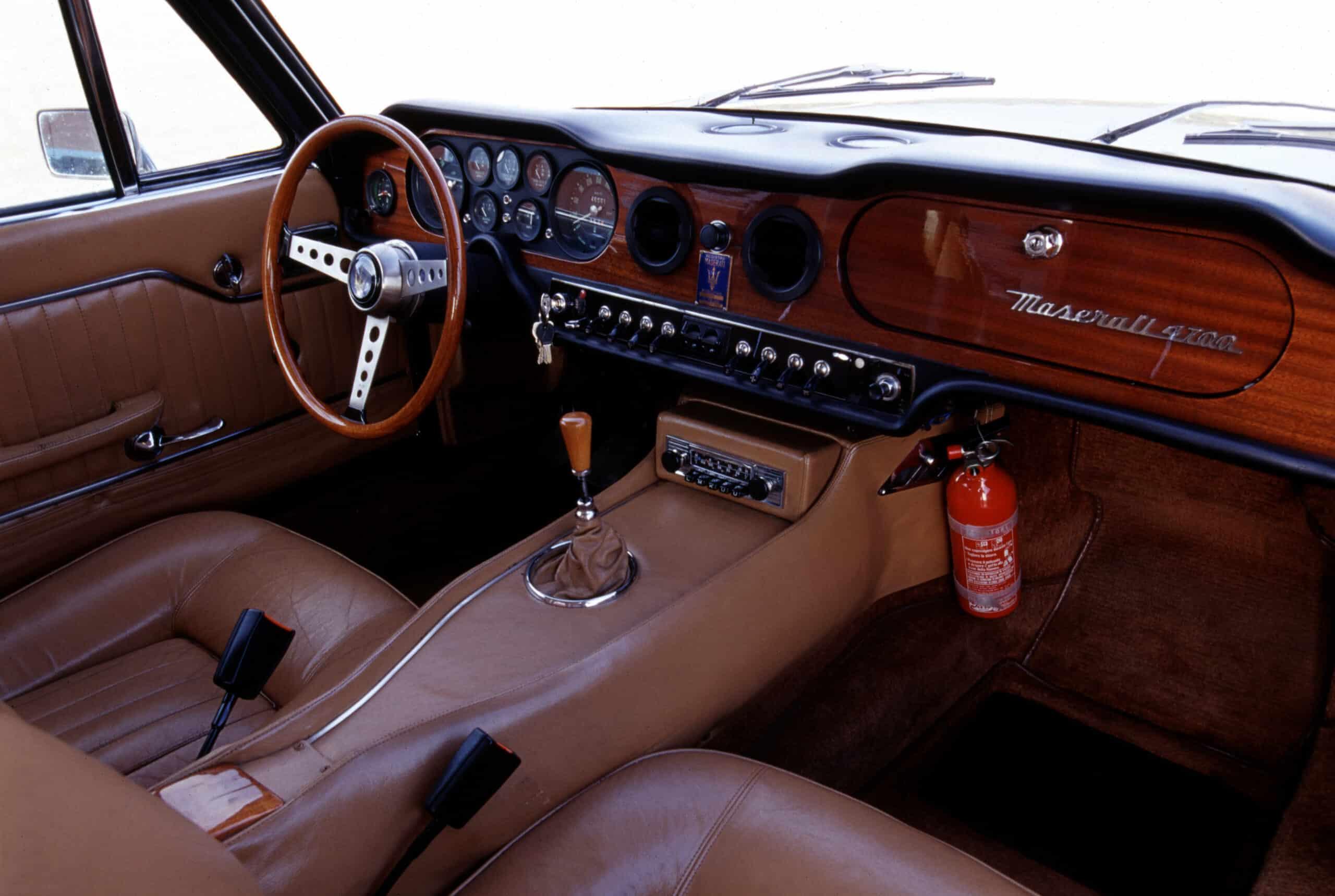 Así se ve el interior del vehículo