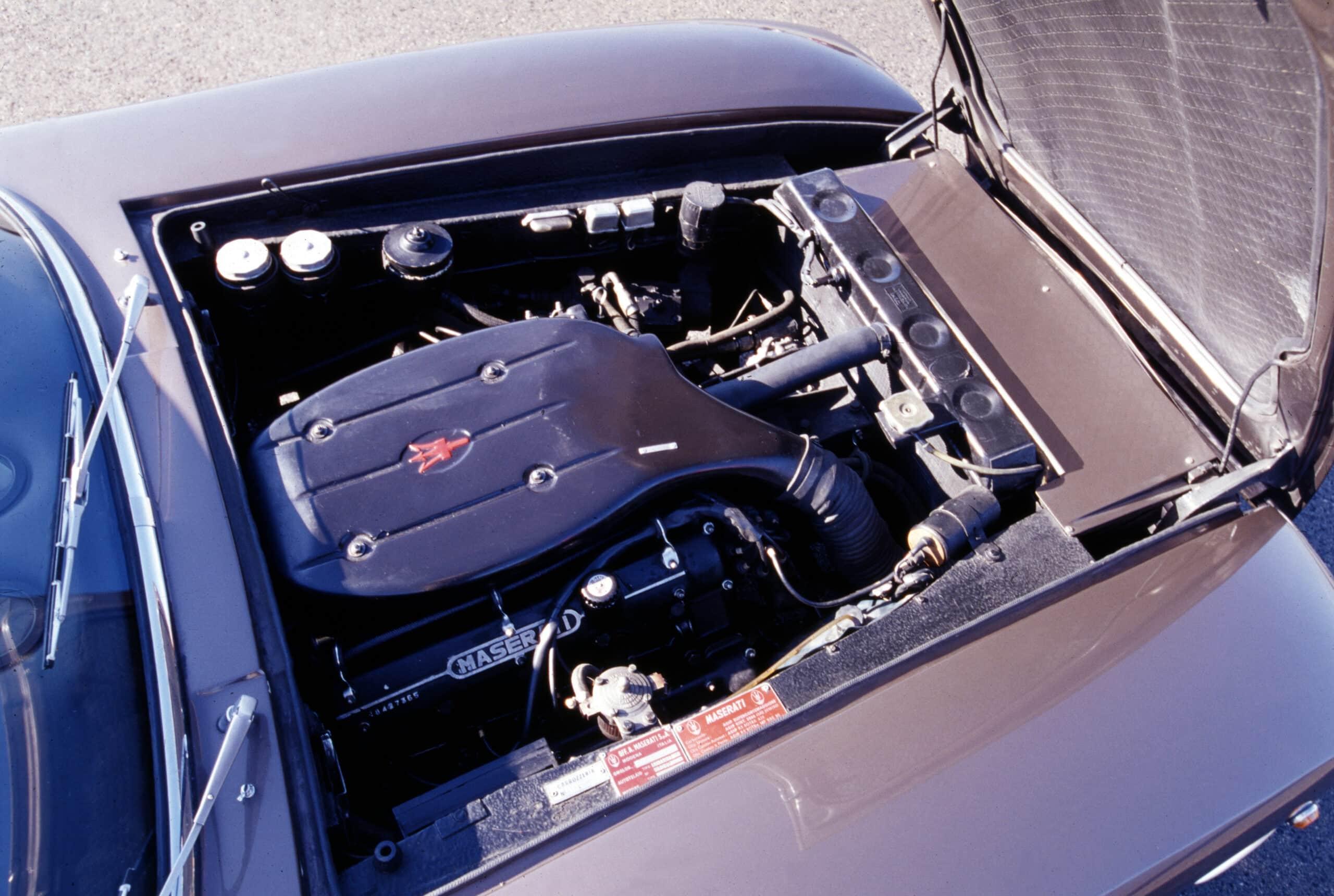 Un vistazo al motor de Maserati Mexico