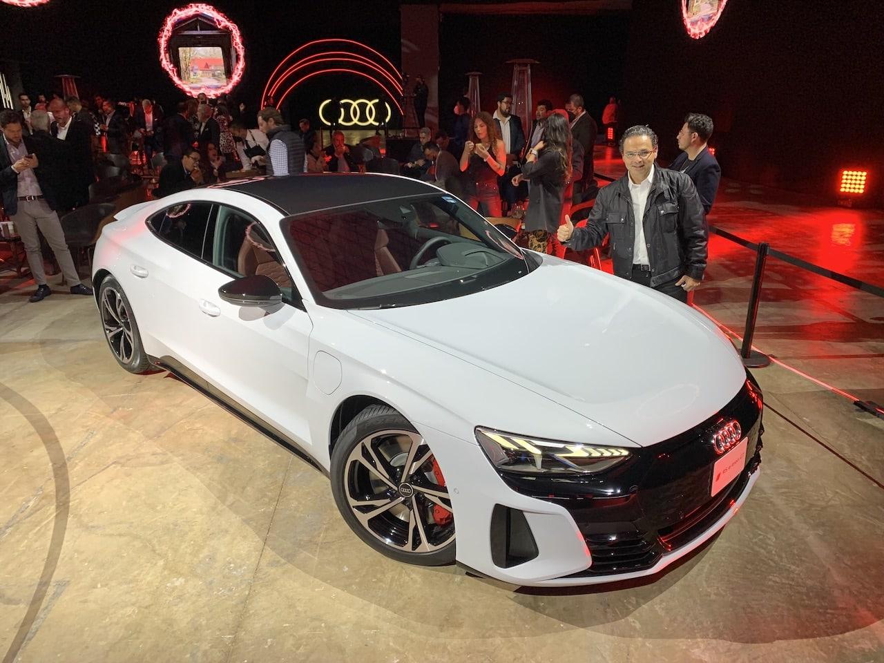 Audi RS e-tron GT, el más rápido y avanzado de la marca