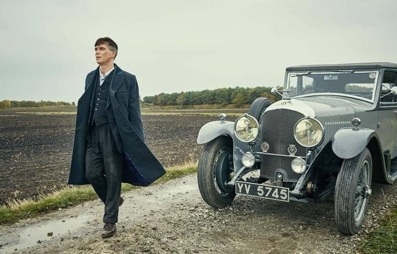 El Bentley de Thomas Shelby: uno de los coches en Peaky Blinders
