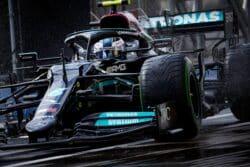 Bottas logra la victoria en Turquía, Sergio Pérez en el podio