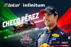 Sergio Pérez rodará en un monoplaza de Red Bull en Paseo de la Reforma