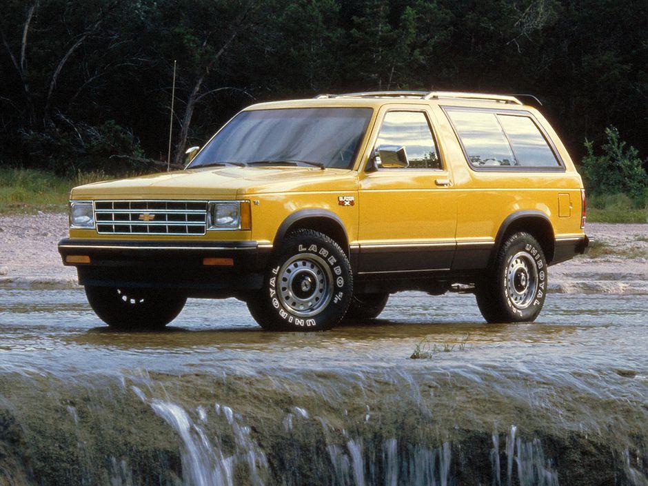 Chevrolet Blazer 1983 S 10 Dos Puertas