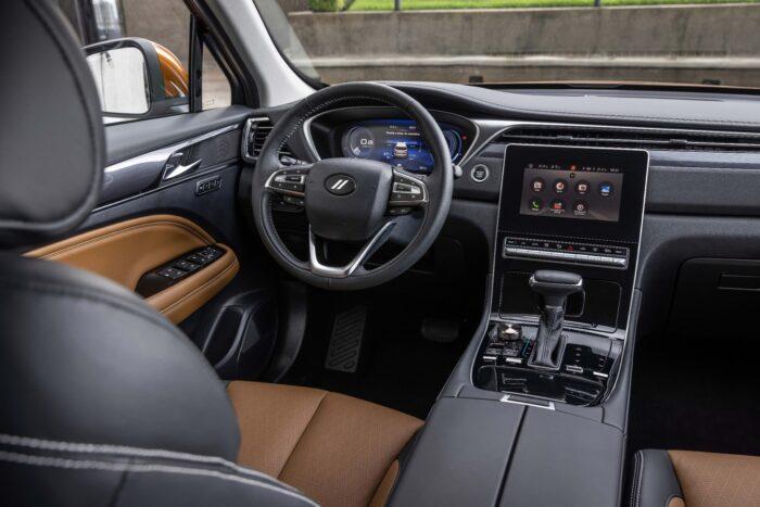 Interior de Dodge Journey