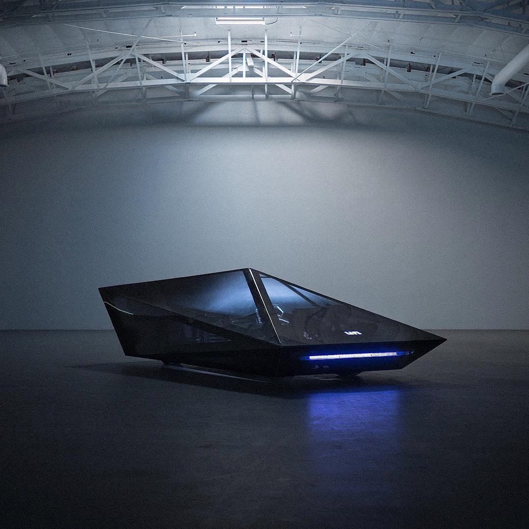 El Lo Res Car es un coche conceptual que nunca se te va a olvidar