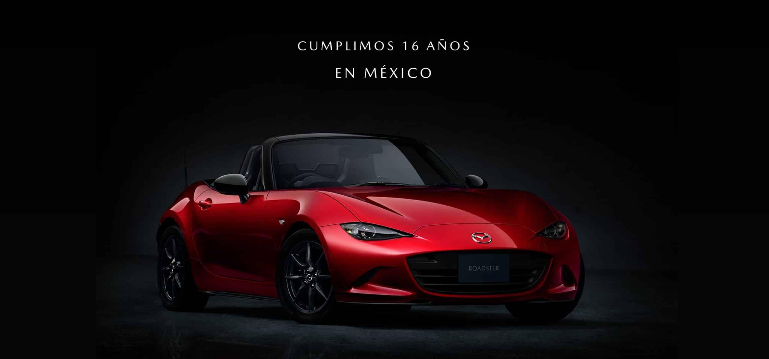 Mazda cumple 16 años en México