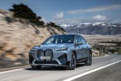 BMW anuncia la preventa del iX, el SUV totalmente eléctrico