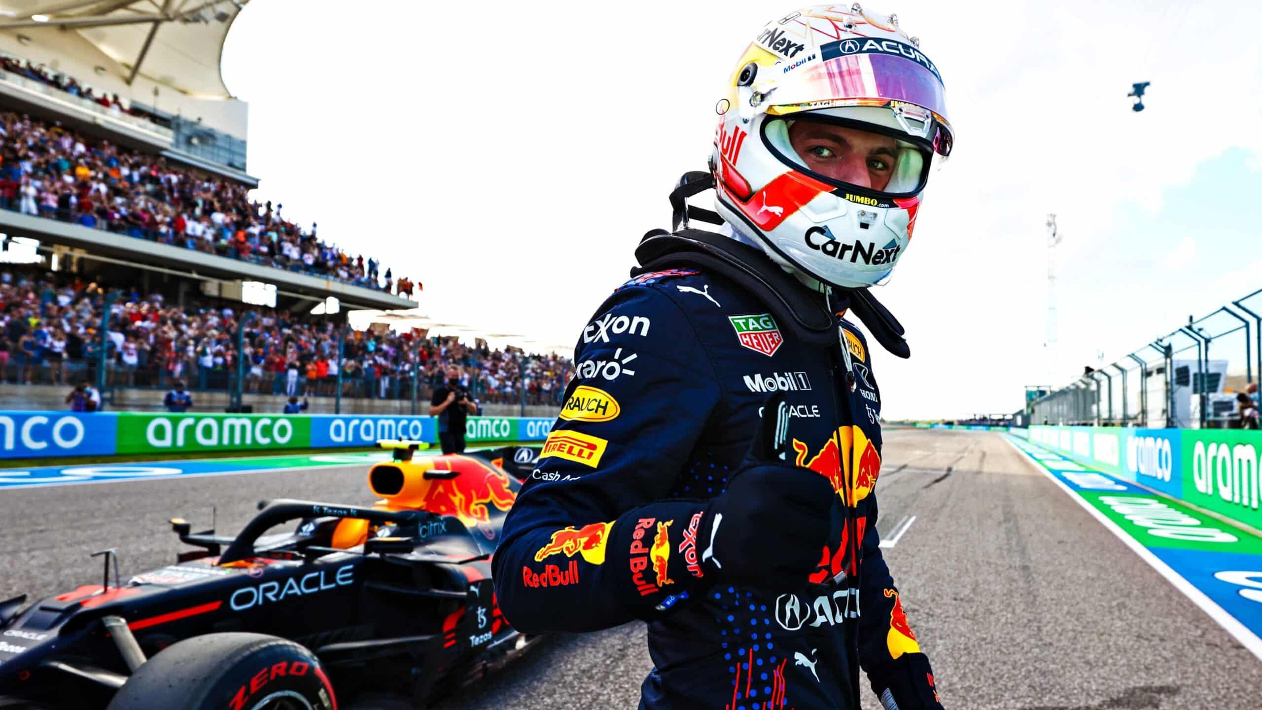 Verstappen vence a Hamilton con la pole position en Austin