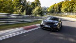 Porsche 718 Cayman GT4 RS supera expectativas