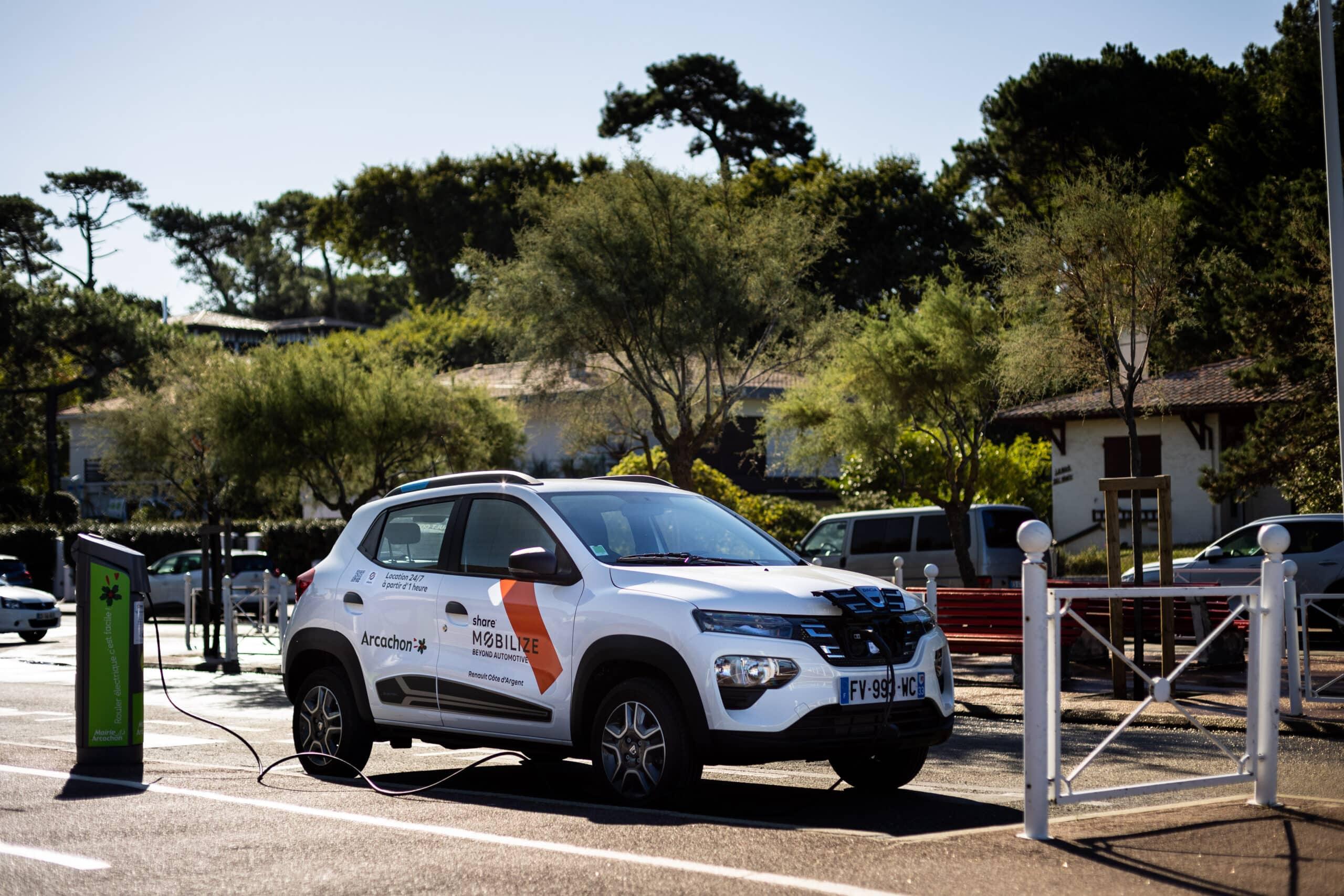 Renault Mobilize lanza el primer servicio de auto compartido