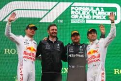 Los podios de Sergio Pérez en la Fórmula 1