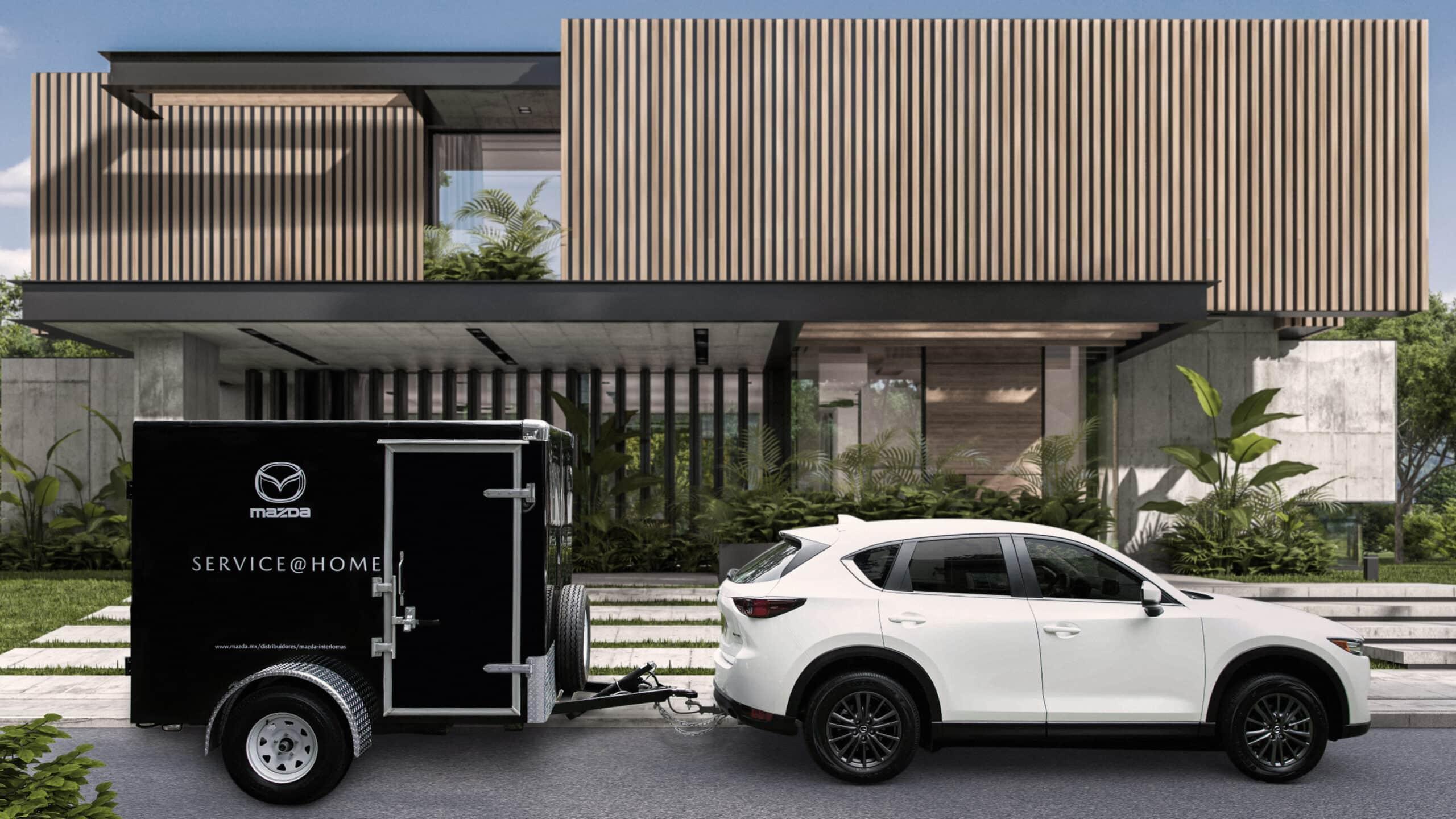 Service at Home de Mazda promete hacerte la vida más fácil