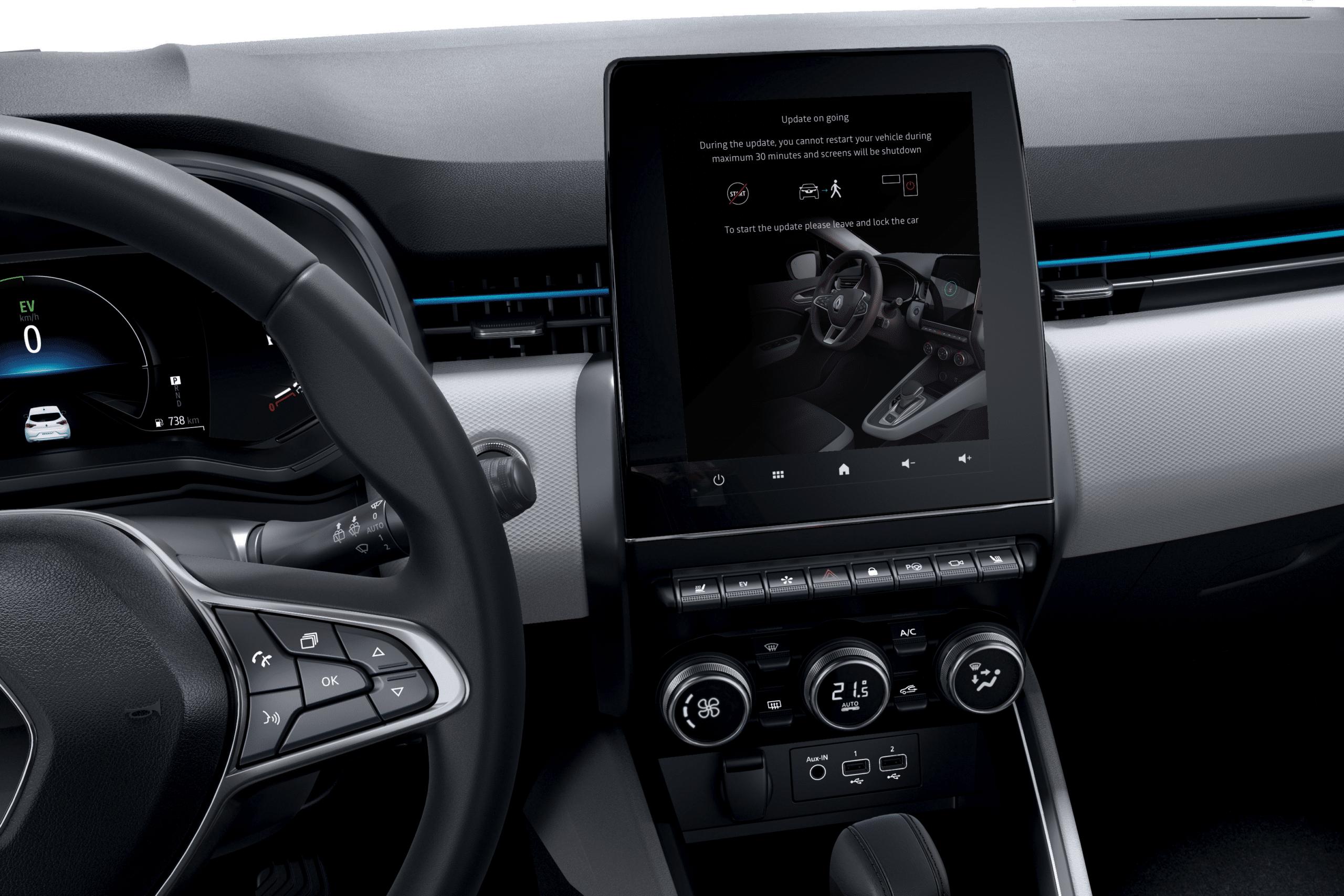 ¿Cómo funcionan las actualizaciones en coches inteligentes? Descubre la tecnología FOTA de Renault